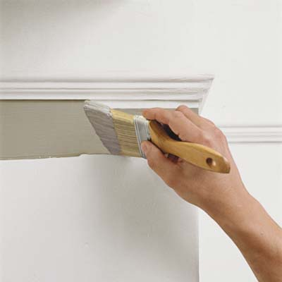 how to paint a room - Home