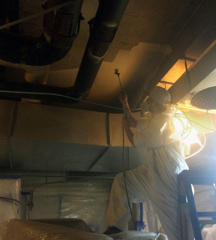 Spray Sealing Chemical Lab