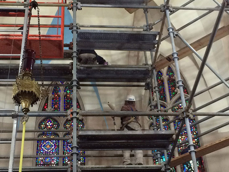 Rochester Church Scaffolding
